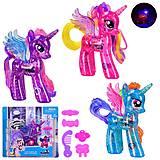 Игрушка Пони Единорог со светом 3 цвета , 88416, игрушка