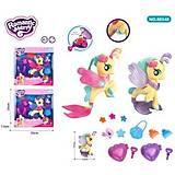 Игрушка пони- русалка с аксессуарами музыка, свет 2 вида 2 цвета , 88548, тойс