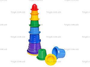 Игрушка-пирамидка «Сомбреро», 2704
