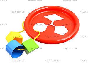 Развивающая игрушка «Логическое кольцо», 39165, купить