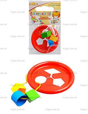 Развивающая игрушка «Логическое кольцо», 39165