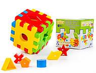 Игрушка развивающая «Волшебный куб», 39376, купить