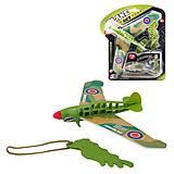 """Игрушка """"Рогатка-самолет"""" зеленый, ESA515, интернет магазин22 игрушки Украина"""