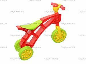 Детская каталка «Ролоцикл» с пищалкой, 3831, фото