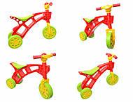 Детская каталка «Ролоцикл» с пищалкой, 3831, купить