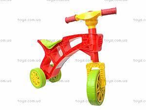 Детская каталка «Ролоцикл» с пищалкой, 3831, отзывы