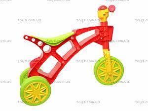 Детская каталка «Ролоцикл» с пищалкой, 3831, цена