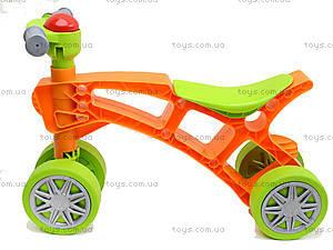 Игрушка-каталка «Ролоцикл», 3824, детские игрушки