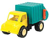 Игрушечный мусоровоз серии «Первые машинки», BT2452Z, фото