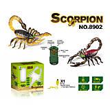 Игрушка «Скорпион» на радиоуправлении черный, 8902-1