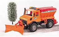Игрушка «Снегоуборочный автомобиль MB Unimog», 02572, купить