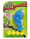 Игрушка «Стреляющая акула», 3004А, toys