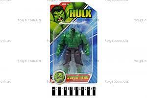 Игрушка супергерой «Халк», WC03-1