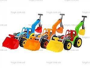 Игрушка «Трактор с двумя ковшами», 3671, купить