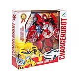 Игрушка-трансформер «Бамблби» (красный), 6-38, купить