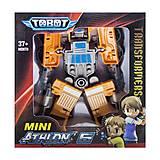 """Игрушка-трансформер """"TOBOT"""" оранжевый с синим, 128, купить"""