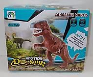 Игрушка «Тиранозавр», со звуковыми эффектами, 9789-72, фото