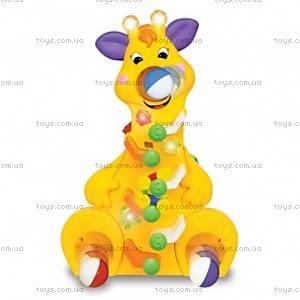 Игрушка «Веселый жираф», 037432