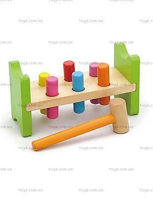 Обучающая игрушка для малышей «Забей гвоздик», 50827VG