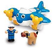 Игрушка WOW TOYS «Полицейский самолет», 10309, отзывы