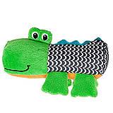 Развивающая игрушка «Забавный крокодил», 52024, детские игрушки