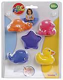 Игрушки для ванной «Морские животные», 401 0371-2, отзывы