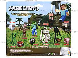 Игрушки «Майнкрафт», 6 штук, 14187, фото