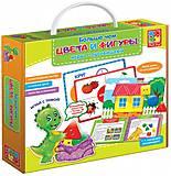 Игры с пуговицами «Больше чем Цвета и Фигуры», VT2801-10, детский