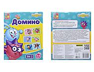 Домино для детей со Смешариками, VT2105-01, фото