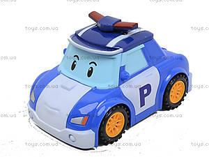 Инерционная детская машина «Робокар Поли», 767-376A, игрушки