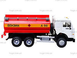 Инерционная машина «Бензин» красная, 9118C, фото