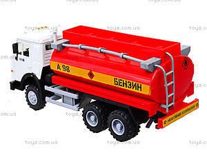 Инерционная машина «Бензин» красная, 9118C, магазин игрушек