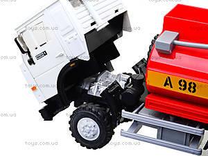 Инерционная машина «Бензин» красная, 9118C, toys.com.ua