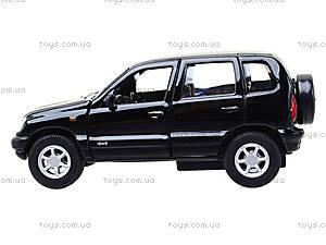 Инерционная машина Chevrolet Niva, 42379W, фото