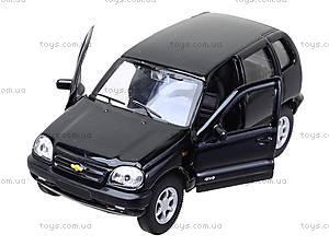 Инерционная машина Chevrolet Niva, 42379W, отзывы