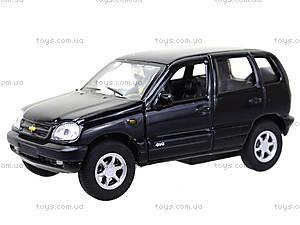 Инерционная машина Chevrolet Niva, 42379W, магазин игрушек