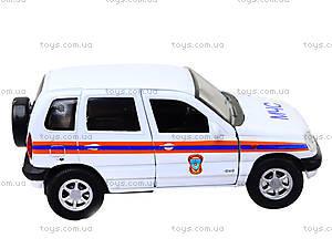 Инерционная машина Chevrolet Niva «МЧС», 42379RE-W, фото