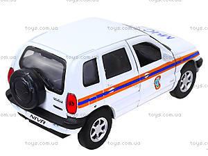 Инерционная машина Chevrolet Niva «МЧС», 42379RE-W, отзывы