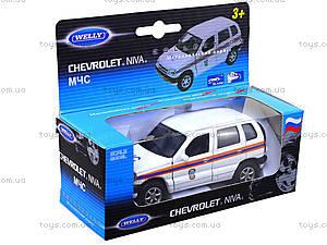 Инерционная машина Chevrolet Niva «МЧС», 42379RE-W, цена