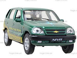 Инерционная машина Chevrolet Niva Trophy, 42379TY-W, фото