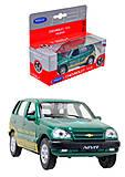 Инерционная машина Chevrolet Niva Trophy, 42379TY-W, отзывы