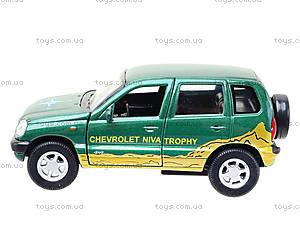 Инерционная машина Chevrolet Niva Trophy, 42379TY-W, цена