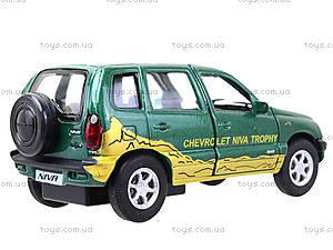 Инерционная машина Chevrolet Niva Trophy, 42379TY-W, игрушки