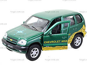 Инерционная машина Chevrolet Niva Trophy, 42379TY-W, детские игрушки
