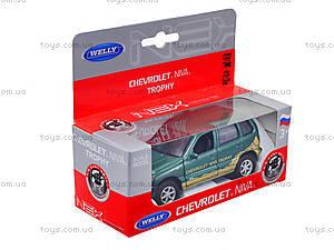 Инерционная машина Chevrolet Niva Trophy, 42379TY-W, toys.com.ua