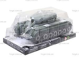 Инерционная машина для детей «Танк», 543-A4, детские игрушки
