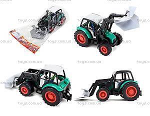 Инерционная машина для детей «Трактор», 27001