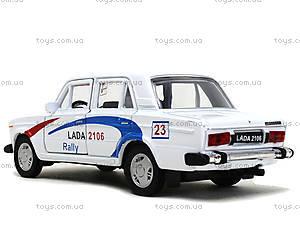 Инерционная машина Lada 2106 Rally, 42381RY-W, отзывы