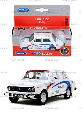 Инерционная машина Lada 2106 Rally, 42381RY-W