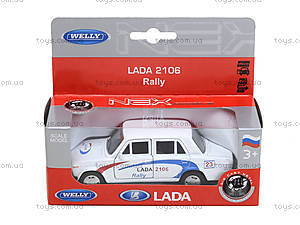 Инерционная машина Lada 2106 Rally, 42381RY-W, цена